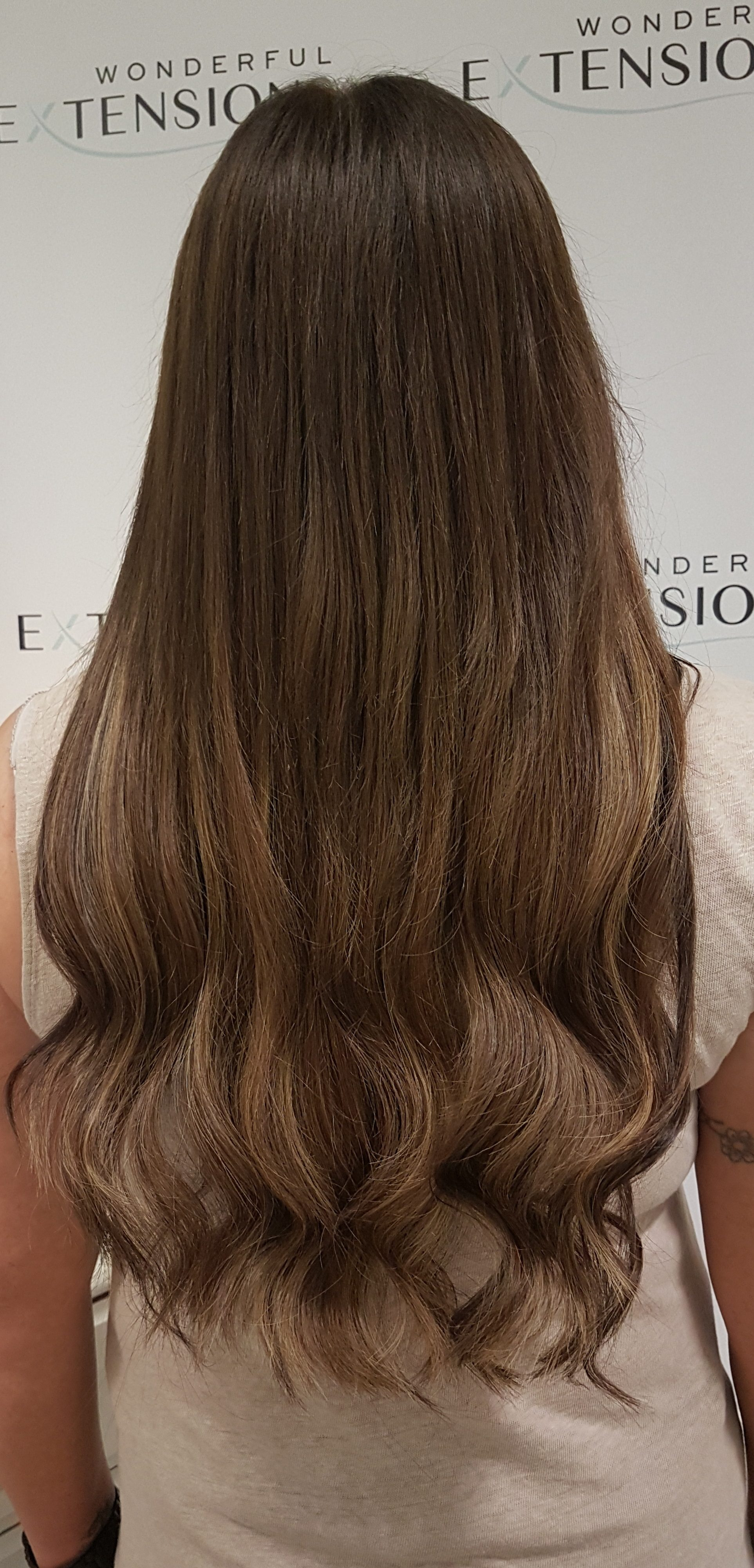 Hair Extensions London - Hash Brown Blond Meche