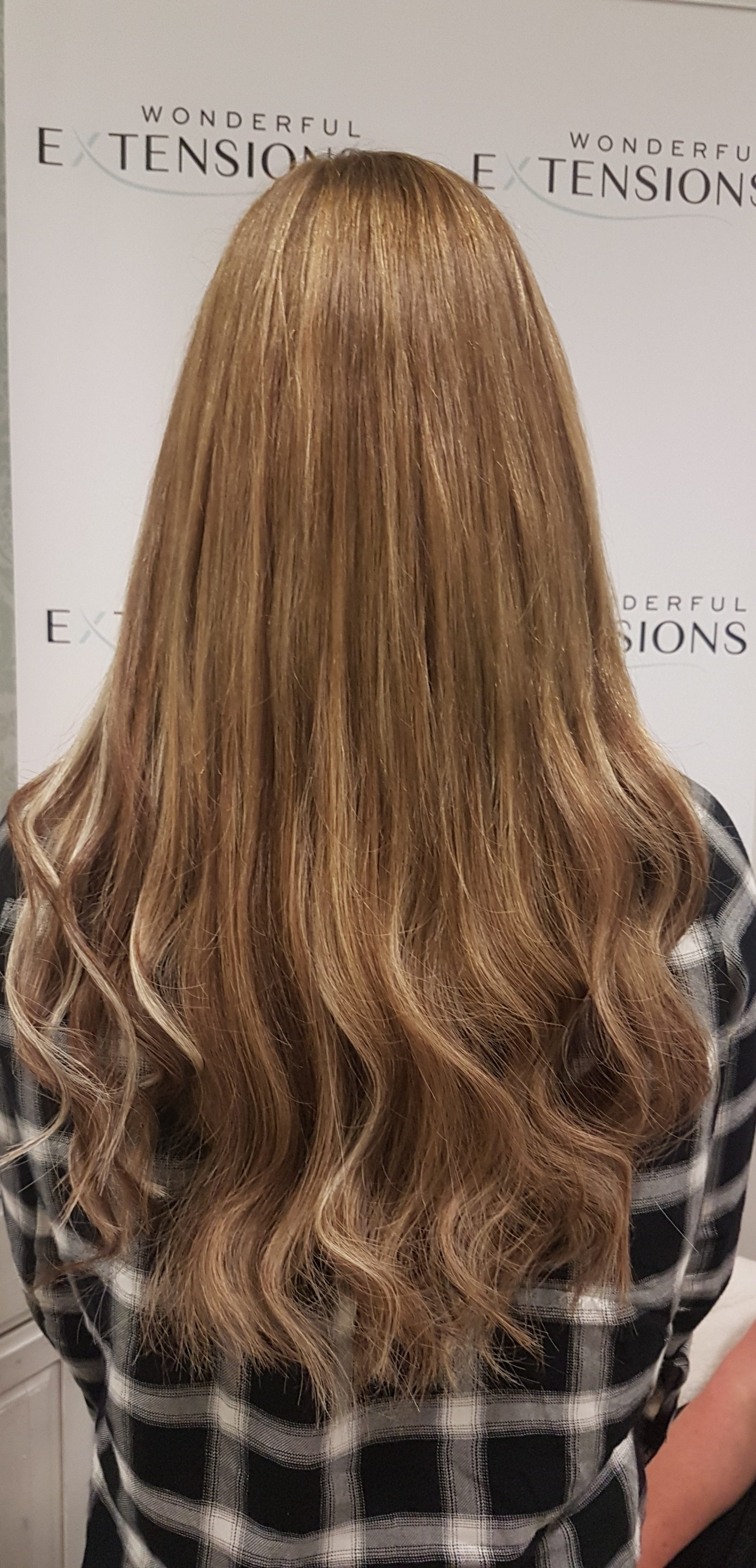 Hair Extensions London - Light Brown
