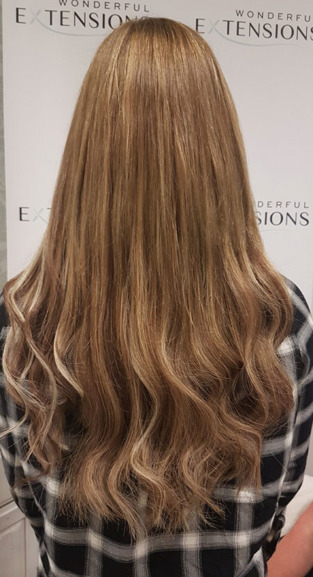 Wonderful Hair Extensions London - Blonde