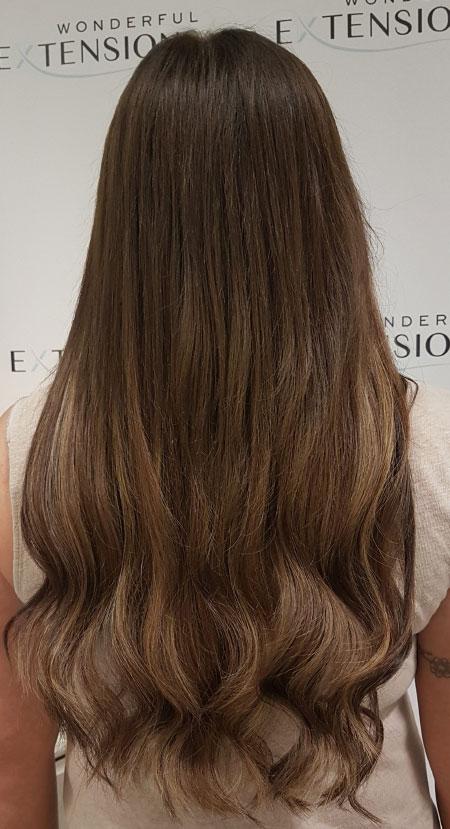 Wonderful Hair Extensions London - Brown