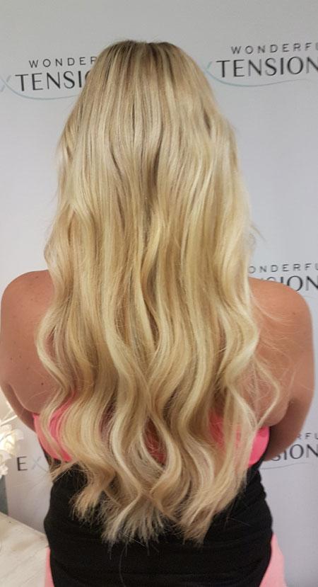 Wonderful Hair Extensions London - Light Blonde