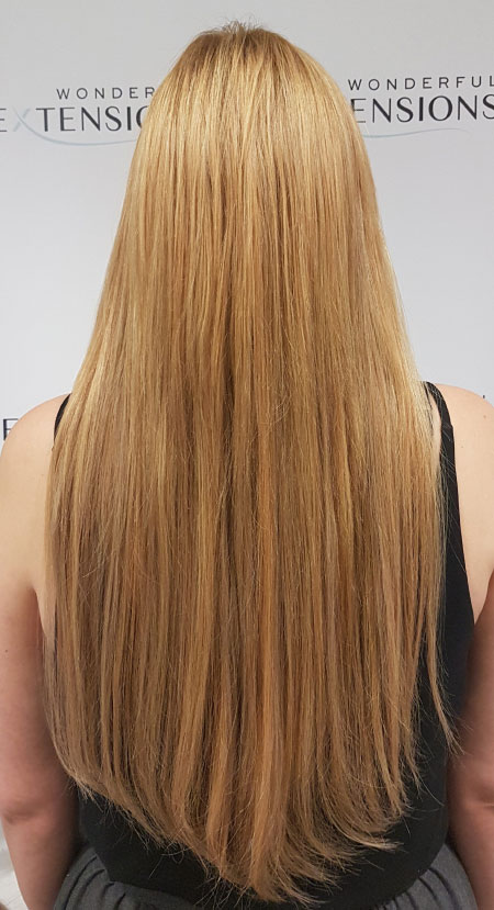 Wonderful Hair Extensions London - Dark Blonde