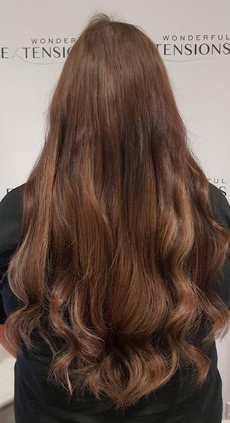 Wonderful Hair Extensions London - Light Brown